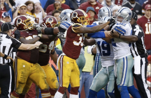 Washington Redskins and Dallas Cowboys fight NHL NFL rule change