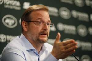 New York Jets General Manager Mike Maccagnan.