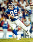 Phil Simms and Mark Bavaro New York Giants Super Bowl championship