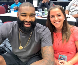 New York Knicks Kyle O'Quinn on Tina Charles and the New York Liberty