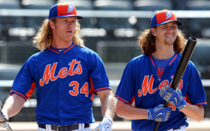 TRADE DEADLINE: new york mets Noah Syndergaard and Jacob deGrom NEW YORK YANKEES